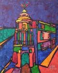 Obras de arte: America : Argentina : Buenos_Aires : Vicente_Lopez : GRAN VIA Y ALCALA