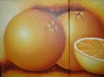 Obras de arte: America : Colombia : Valle_del_Cauca : Cali : diptico naranjas