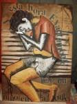 Obras de arte: America : Argentina : Formosa : formosa_Capital : hay unniño en la calle