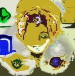 Obras de arte: America : Brasil : Sao_Paulo : Sao_Paulo_ciudad : Figura Alada Querubim M.