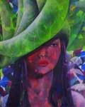 Obras de arte: America : Costa_Rica : Cartago :  : Sombrero de Luna (Serie Atuendos)   acrilico sobre tela