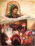 Obras de arte: America : México : Coahuila_de_Zaragoza : Torreón : fe guadalupana