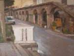 Obras de arte: Europa : España : Catalunya_Barcelona : Barcelona : Arcadas en Cardona