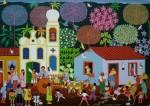 Obras de arte: America : Brasil : Pernambuco : Jaboatao : CASAMENTO DO INTERIOR