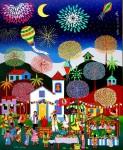 Obras de arte: America : Brasil : Pernambuco : Jaboatao : Noite de Sao Joao