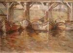 Obras de arte: America : Uruguay : Montevideo : Montevideo_ciudad : Muelle de pescadores