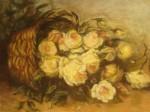 Obras de arte: America : Uruguay : Montevideo : Montevideo_ciudad : Canasta de Rosas Blancas