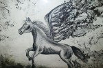 Obras de arte: America : México : Michoacan_de_Ocampo : Morelia : pegaso