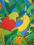 Obras de arte: America : Venezuela : Miranda : Caracas_ciudad : Loros