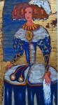 Obras de arte: Europa : España : Andalucía_Málaga : Tolox : MENINA EN AZUL