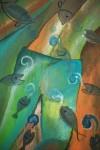 Obras de arte: America : México : Michoacan_de_Ocampo : Morelia : peces