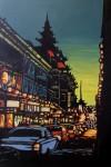 Obras de arte: Europa : Espa�a : Madrid : Torrelodones : Luces de Chinatown