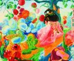 Obras de arte: Europa : Rusia : Perm : Ocher : Salesgirl of colors