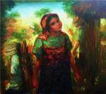 Obras de arte: America : Panamá : Veraguas : Santiago_de_Veraguas : NIÑA KUNA