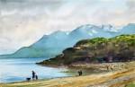 Obras de arte: America : Argentina : Tierra_del_Fuego : Ushuaia : (38) Playa larga (R-324).jpg