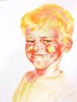 Obras de arte: Europa : Rusia : Perm : Ocher : Solar boy ( the son of artist Sasha)