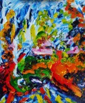 Obras de arte: Europa : Rusia : Perm : Ocher : Running away summer, the overtaking winter