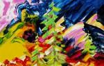 Obras de arte: Europa : Rusia : Perm : Ocher : Hamar-Daban's spurs