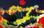 Obras de arte: Europa : Rusia : Perm : Ocher : Time of the Red Moon