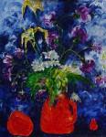 Obras de arte: Europa : Rusia : Perm : Ocher : Wild flowers