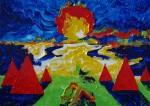 Obras de arte: Europa : Rusia : Perm : Ocher : El campamento