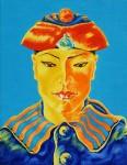 Obras de arte: Europa : Rusia : Perm : Ocher : El marinero siamés en el sombrero nacional