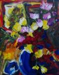 Obras de arte: Europa : Rusia : Perm : Ocher : El ramo de las rosas