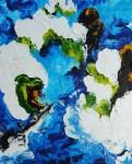Obras de arte: Europa : Rusia : Perm : Ocher : El desbordamiento, los jardines en el color