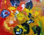 Obras de arte: Europa : Rusia : Perm : Ocher : Los tulipanes negros
