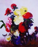 Obras de arte: Europa : Rusia : Perm : Ocher : Bouquet of Asters