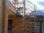 daniel ceroli escaleras de hierro forjado