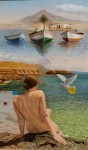 Obras de arte: Europa : España : Canarias_Las_Palmas : Puerto_del_Rosario : Paloma de la Rosa