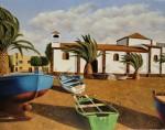Obras de arte: Europa : España : Canarias_Las_Palmas : Puerto_del_Rosario : Iglesia de la Lajita