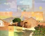 Obras de arte: Europa : España : Canarias_Las_Palmas : Puerto_del_Rosario : Geometría en Tefía
