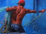 Obras de arte: America : México : Baja_California_Sur : lapaz : Dificil jornada