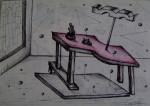 Obras de arte: America : México : Chihuahua : ciudad_juarez : La mesa de la tentación