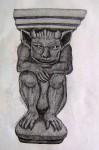 Obras de arte: America : México : Chihuahua : ciudad_juarez : Gárgola