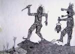 Obras de arte: America : México : Chihuahua : ciudad_juarez : Los cazadores