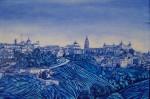 Obras de arte: Europa : España : Madrid : Madrid_ciudad : TOLEDO IN BLUE