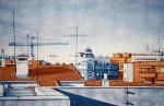 Obras de arte: Europa : España : Madrid : Madrid_ciudad : THE HOUSE BLUE