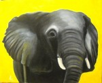 Obras de arte: Europa : España : Catalunya_Tarragona : Valls : Elefante