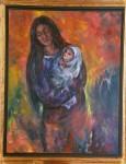 Obras de arte: Europa : España : Navarra : Pamplona_ciudad : Maternidad