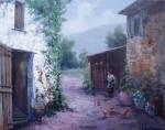 Obras de arte: Europa : España : Catalunya_Girona : St.Privat_de_bas : Portal
