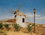 Obras de arte: Europa : España : Canarias_Las_Palmas : Puerto_del_Rosario : Molino de Lajares