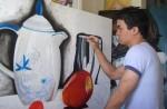 Obras de arte: America : Rep_Dominicana : Valverde : mao : En bandeja de plata