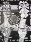 Obras de arte: Europa : España : Extremadura_Badajoz : badajoz_ciudad : Los desprotegidos IV