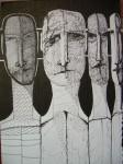 Obras de arte: Europa : España : Extremadura_Badajoz : badajoz_ciudad : Los desprotegidos(V)
