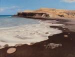 Obras de arte: Europa : España : Canarias_Las_Palmas : Puerto_del_Rosario : Playa espumosa de Ajui