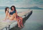 Obras de arte: Europa : España : Comunidad_Valenciana_Castellón : castellon_ciudad : En el embarcadero