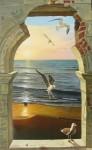 Obras de arte: America : Colombia : Atlantico : barranquilla : mar cambiante
